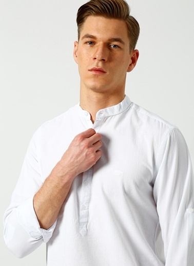Bad Bear Gömlek Beyaz